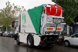 Premio a la movilidad sostenible al vehículo eléctrico-híbrido de recogida de basuras de FCC