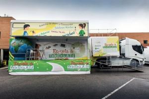 La Escuela de Reciclaje es un proyecto educativo sobre gestión de residuos de aparatos eléctricos y electrónicos