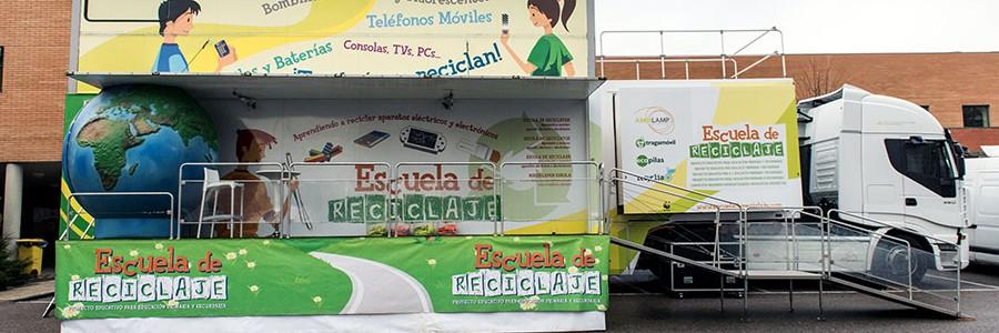 Más de 525.000 escolares han participado en la Escuela de Reciclaje