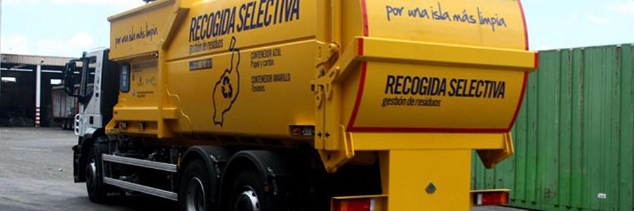 Lanzarote baja las tasas de gestión a los ayuntamientos y transportistas que separen sus residuos