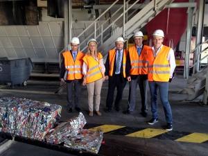 Nuevos equipos para optimizar el rendimiento de la planta de selección de envases de Son Reus, en Mallorca