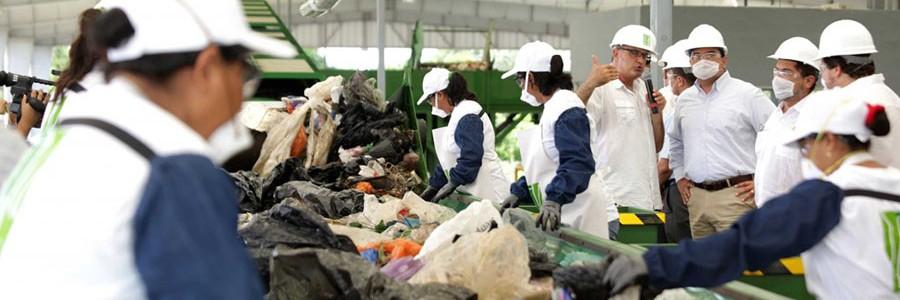 México: Mérida pone en marcha una moderna planta de reciclaje y biometanización