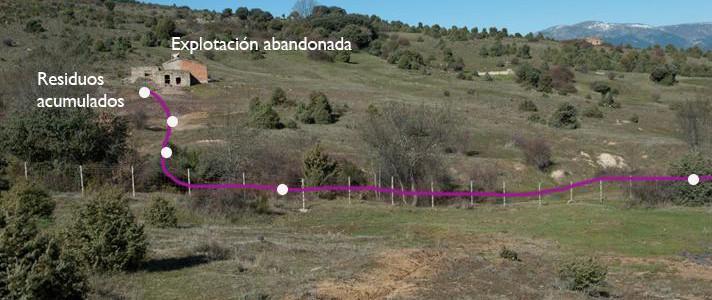 Detectan residuos de arsénico en suelos junto a una mina abandonada en Madrid