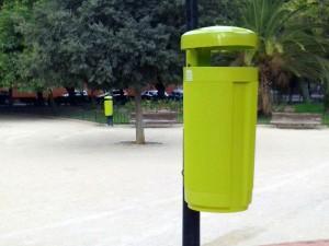 Nuevas papeleras ecológicas en Valencia