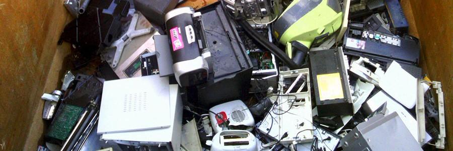 Gijón recoge más de 2.000 kg. de pequeños aparatos eléctricos y electrónicos en la EWWR