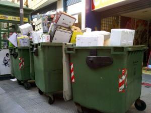 Los hogares españoles generaron 22,4 millones de toneladas de residuos urbanos en 2012