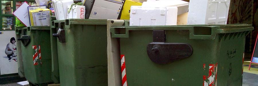 España generó 22,4 millones de toneladas de residuos urbanos en 2012