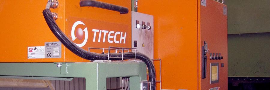 El Centro de Tratamiento de Residuos de Alcázar de San Juan incorpora dos nuevos equipos de clasificación TITECH autosort 4