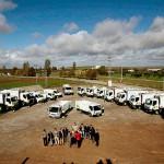 La Diputación de Badajoz renueva la flota de camiones de recogida de residuos