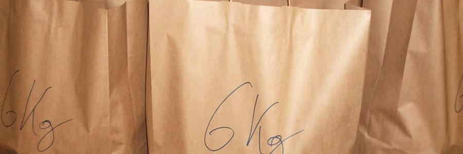 Demostrado: las bolsas de papel son reutilizables