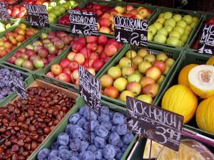 Envases reutilizables de plástico para frutas y hortalizas