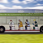 Un autobús impulsado a partir de excrementos humanos comienza a operar en Reino Unido