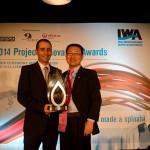 Un investigador del ICRA recibe un premio internacional por un proyecto sobre gestión del alcantarillado