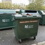Otros dos barrios de Pamplona cuentan ya con el quinto contenedor para materia orgánica