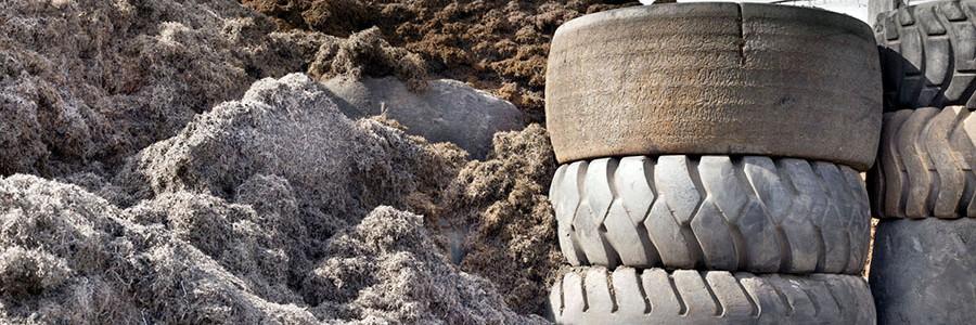 TNU reducirá un 7,3% las tasas por la gestión de los neumáticos usados