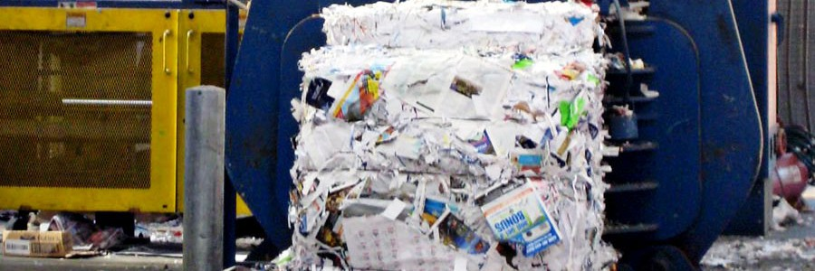 El reciclaje de papel evita la emisión de 750 millones de toneladas de gases de efecto invernadero