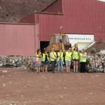Científicas estadounidenses visitan Zonzamas para conocer la gestión de residuos de Lanzarote