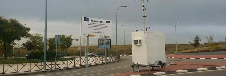 Alcobendas participa en proyecto LIFE MINOx-STREET para reducir la contaminación atmosférica