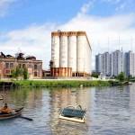 Una boya solar para descontaminar ríos