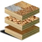Madera y plástico reciclados para fabricar muebles resistentes al fuego y la humedad