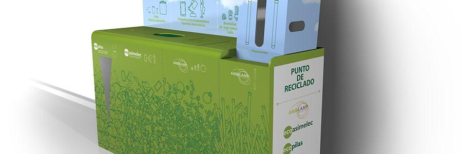 Recogidos más de 2.600 kg de pilas con los multicontenedores de residuos en Cataluña