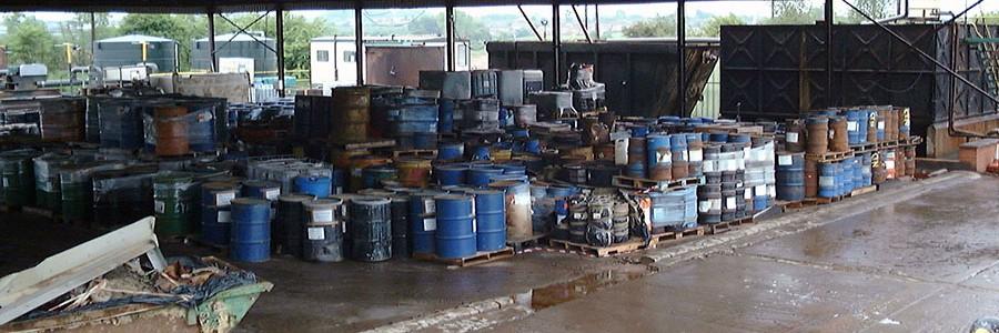 Modificación de las características de los residuos que permiten calificarlos como peligrosos
