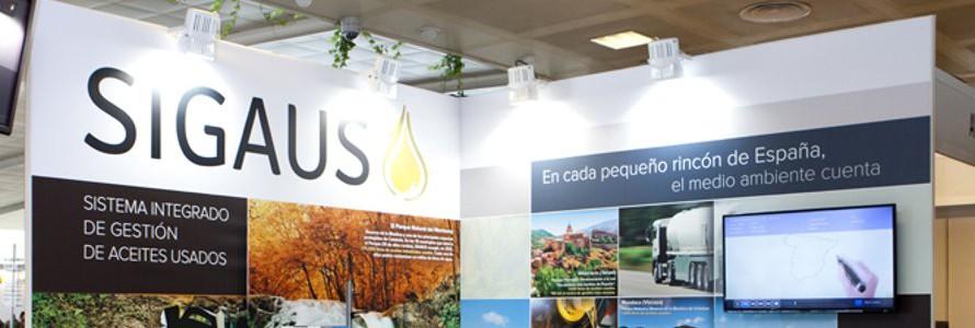 SIGAUS muestra en CONAMA la importancia de la recogida de aceites usados