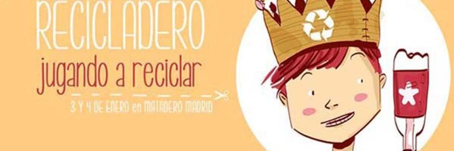 'El Recicladero' convoca a las familias madrileñas para celebrar unas fiestas más ecológicas y solidarias