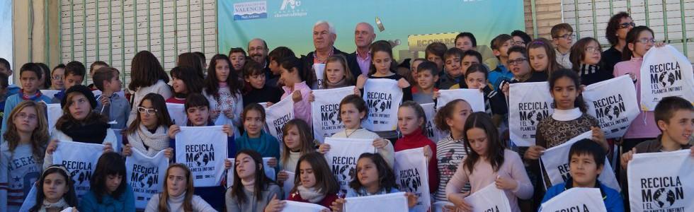 Comienza la campaña «Reciclamon y el planeta infinito»  en Valencia