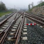 Reciclan neumáticos usados en la fabricación de vías ferroviarias