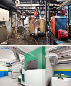 Un edificio residencial de Albacete se ahorrará un 40% en su factura energética gracias al uso de biomasa