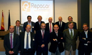 foto de la nueva Junta Directiva de REPACAR