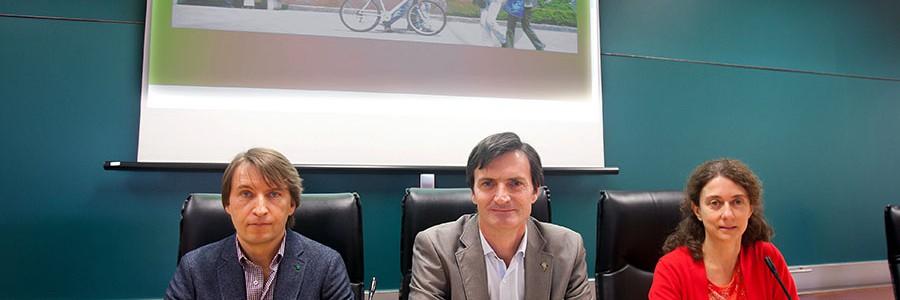 Un mapa de contaminación de Pamplona permitirá elegir las rutas más saludables