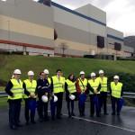 La Comisión de Medio Ambiente del Senado visita las instalaciones de tratamiento de residuos de Bizkaia