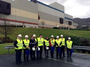 La Comisión de Medio Ambiente y Cambio Climático del Senado visita las plantas de tratamiento de residuos de Bizkaia