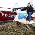 Los pescadores europeos se implican en la lucha contra la basura marina