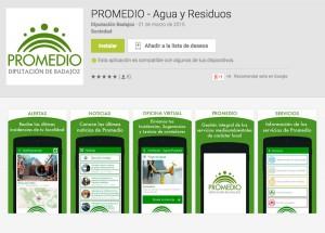 PROMEDIO lanza una app para que los ciudadanos envíen incidencias sobre el servicio de residuos y aguas