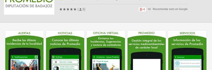 Una app para enviar incidencias en los servicios de residuos y agua en la provincia de Badajoz