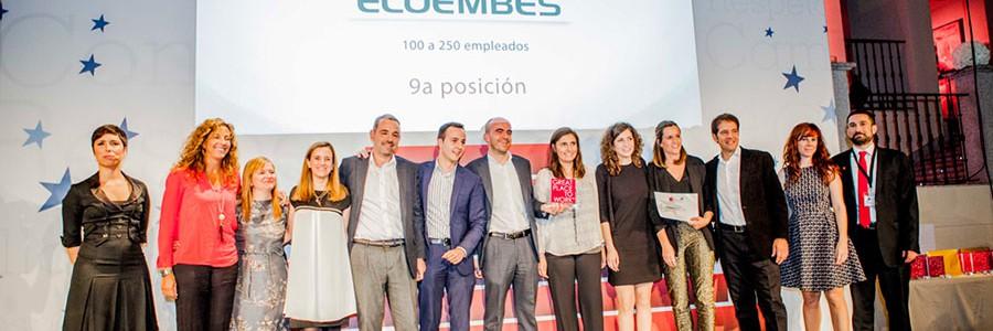 Ecoembes, una de las mejores empresas para trabajar en España