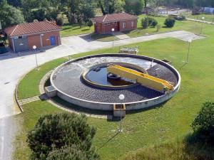 Estación de depuración de aguas residuales