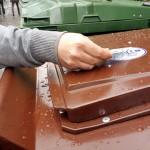 El contenedor de residuos orgánicos llega al casco viejo de Hondarribia (Gipuzkoa)