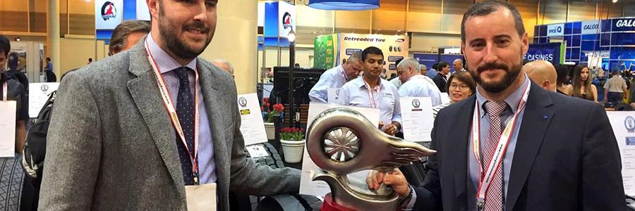 Reconocimiento internacional a una empresa española de neumáticos reciclados