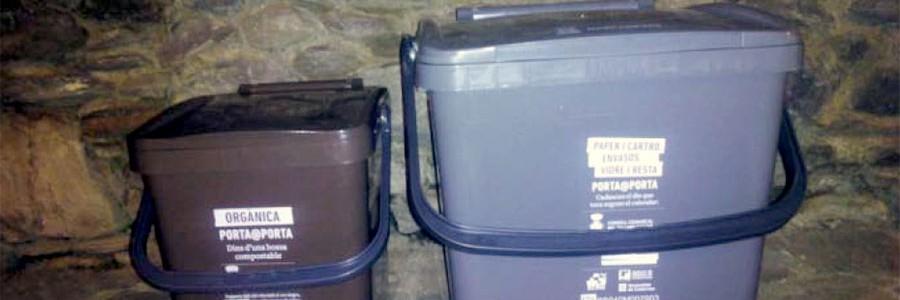 El Pallars Sobirà logra un 80% de recogida selectiva de residuos gracias al Puerta a Puerta