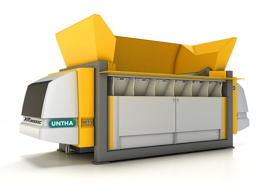 Nuevo triturador XR-C de UNTHA para la producción de CSR