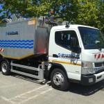 Camiones eléctricos para la recogida de residuos en Palma