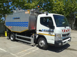 Palma incorpora camiones eléctricos a la recogida de residuos