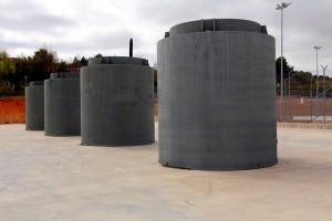 Contenedores para residuos nucleares de alta actividad