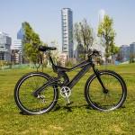 120 botellas de plástico recicladas para fabricar una bicicleta