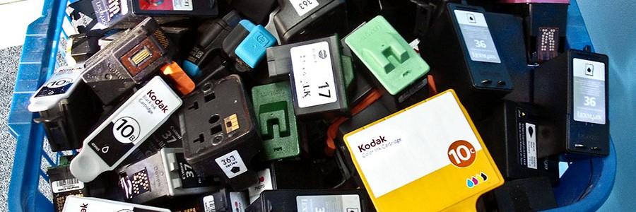 Siete de cada diez españoles no reciclan los cartuchos de tinta