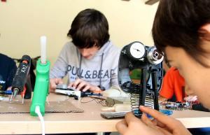 """Pamplona acogió con éxito el evento de educación ambiental """"¿Te Suenan los RAEE?"""""""